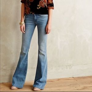 LEVEL 99 {Anthro} Dahlia Flare Leg Jeans size 26